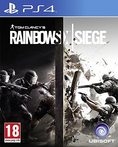 Ubisoft Tom Clancy S Rainbow Six Siege Ps4 Basico Pc Frances Video