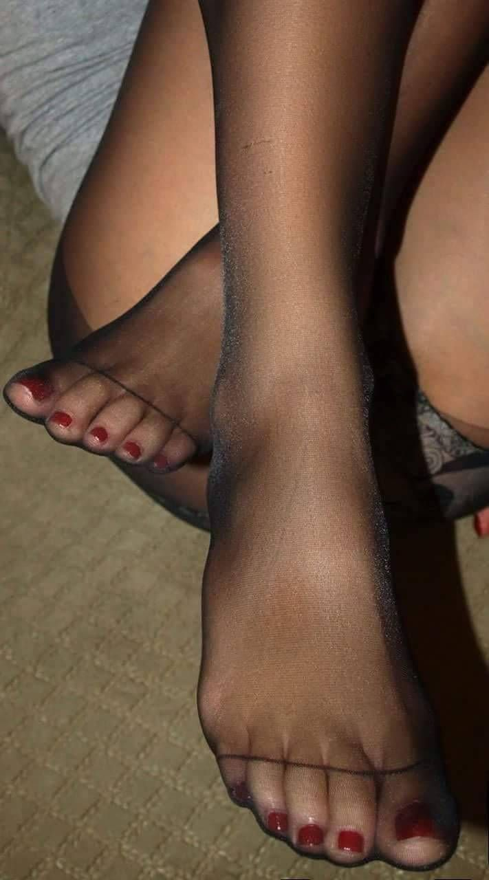 from Flynn foot in nylons sexy womens