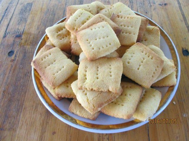 Egy finom Rizslisztes háztartási keksz házilag (gluténmentes) ebédre vagy…