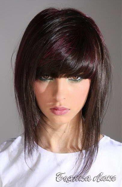 Стрижки и прически для тонких волос 044