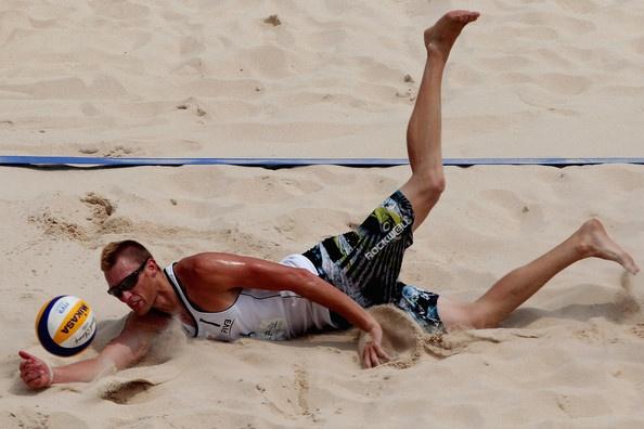 2011 FIVB Beach Volleyball World Tour Beijing Grand Slam - Caset Patterson