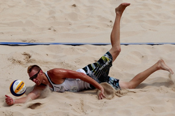 2011 FIVB Beach Volleyball World Tour Beijing Grand Slam - Caset Patterson