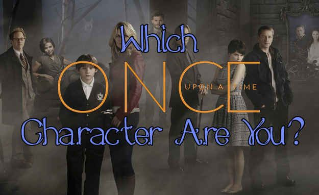 """Which """"Once Upon A Time"""" Character Are You"""