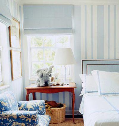 baby blue boy's room