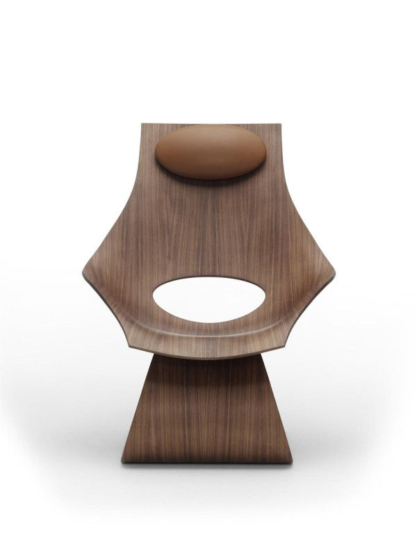 A Sculptural Lounge Chair Designed For Dreaming