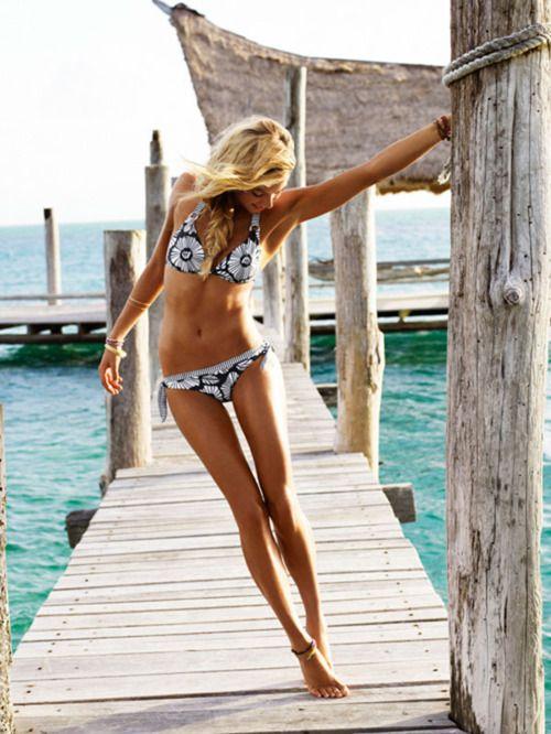 great bod and great bikini..