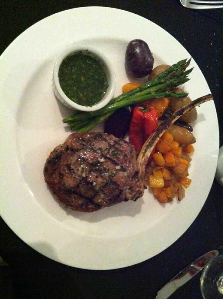 Our famous Veal Chop