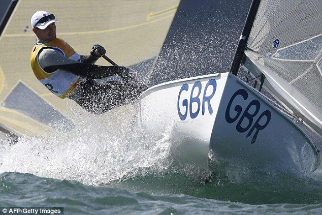 Team GB's Giles Scott sailed to victory to claim his first ever Olympic gold…