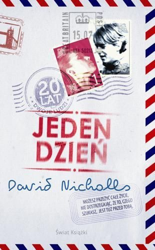 Jeden dzień by David Nicholls  #bookcover  #bookcoverdesign