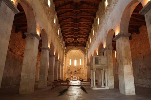 Abbey of San Liberatore, Maiella mountain (built in 1007)