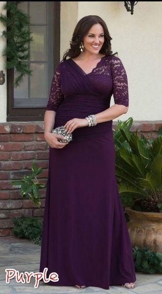 Lace Dress Women Black Purple Red Black White Party Dress Plus Size ...