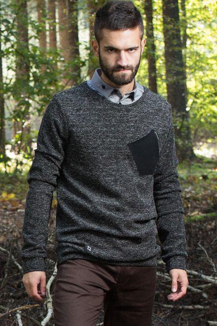 Boar_black - pánský svetr