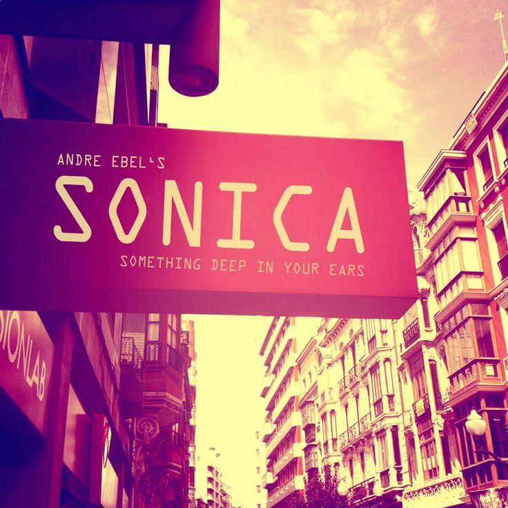 Sonica CD Cover