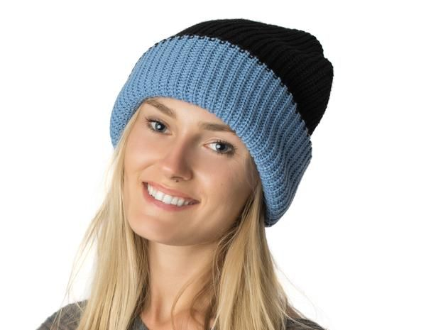 f2f11bba934 Womens Reversible Slouchy Beanie Hat Lined - Candy Couture Boutique