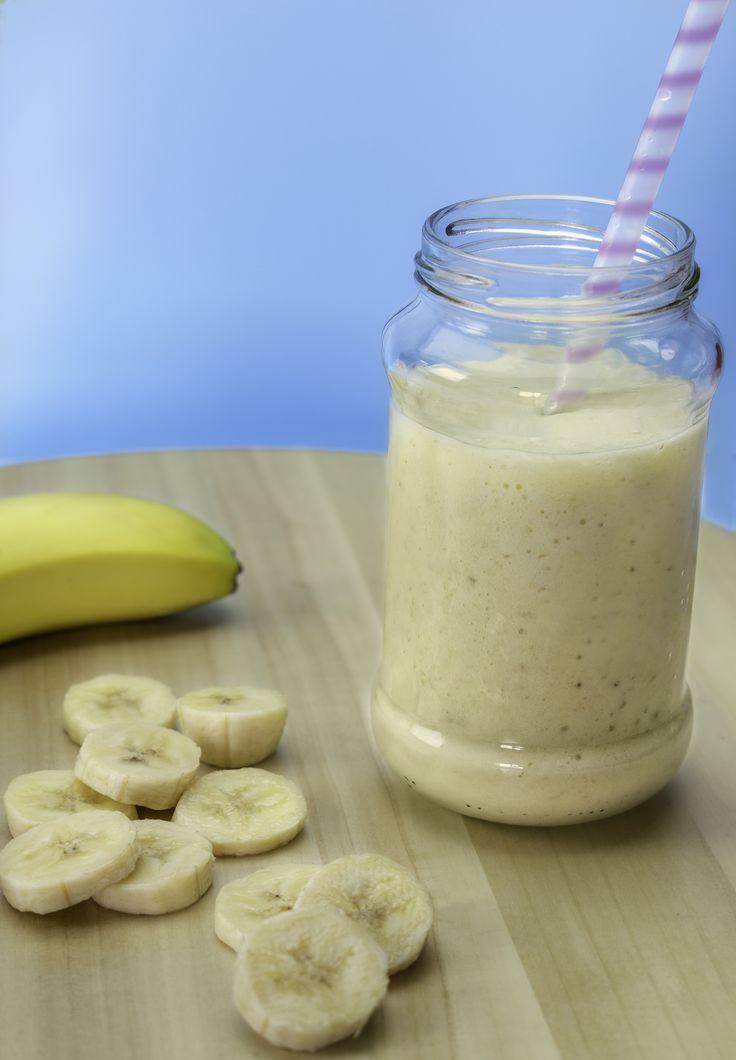 Banana Smoothie Food Photography