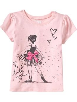 Ballerina - Graphic Crew-Neck Tees for Baby   Old Navy