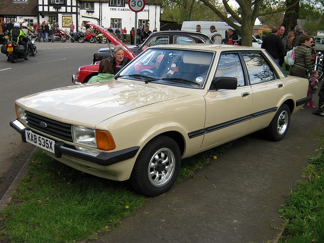 MARCH 1982 FORD CORTINA MK5 1993cc GL KAB535X | Flickr - Photo Sharing!