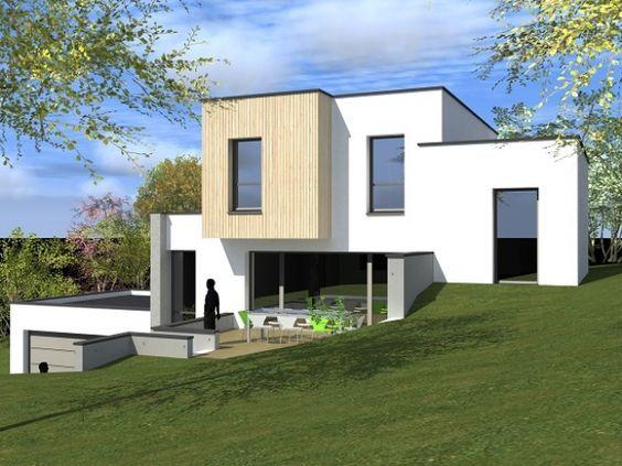 47 best Construire une maison clé sur porte images on Pinterest - construction maison terrain en pente