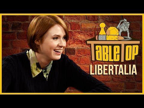 ▶ Libertalia: Seth Green, Karen Gillan, and Clare Grant Join Wil on TableTop - YouTube