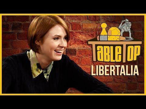 ▶ Libertalia: Seth Green, Karen Gillan, and Clare Grant Join Wil on TableTop - YouTube