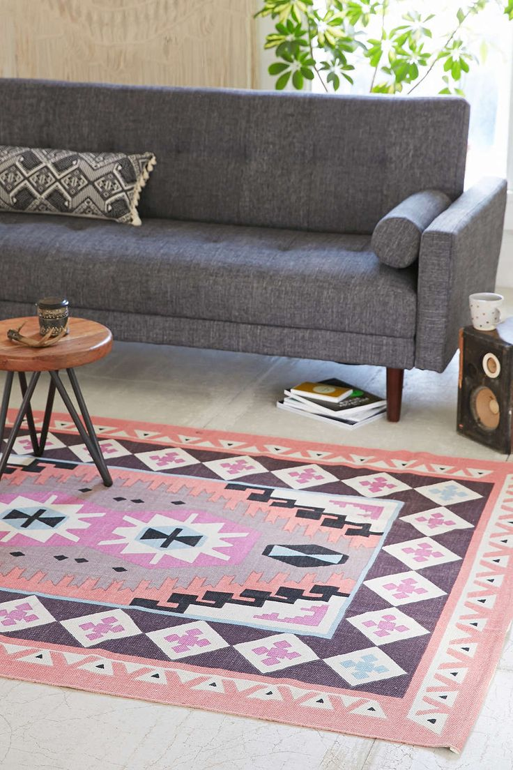 Plum & Bow Karakum Printed Rug  Laundry room 3x5. Seriously wishing this came in a bigger size