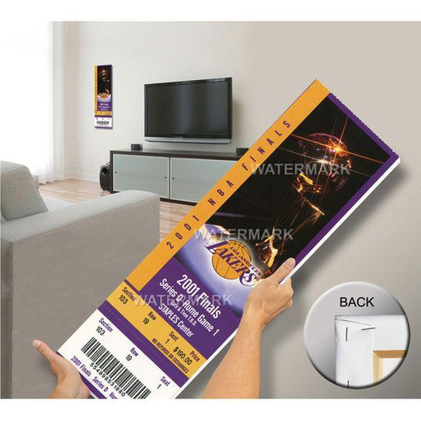 2001 NBA Finals Mega Ticket - Los Angeles Lakers - $79.99