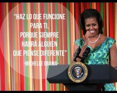 Frases de Michelle Obama que dejaron huella