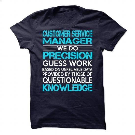 Awesome Shirt For Customer Service Manager #fashion #T-Shirts. BUY NOW => https://www.sunfrog.com/LifeStyle/Awesome-Shirt-For-Customer-Service-Manager-90230402-Guys.html?60505