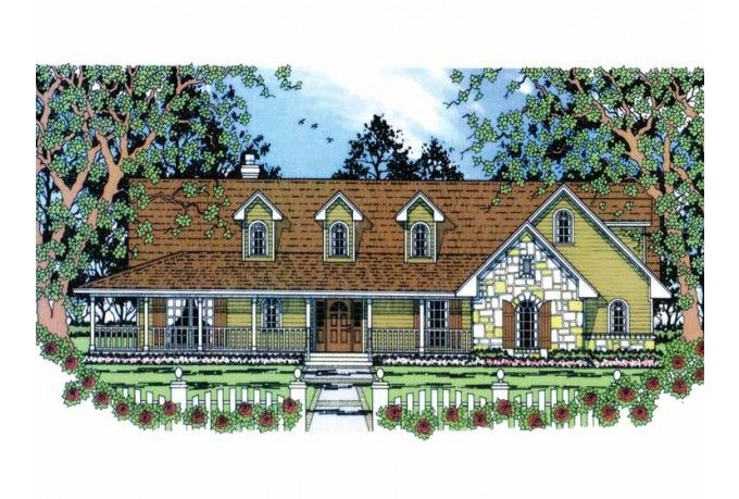 Eplans Cottage House Plan A Cottage For Three 2001