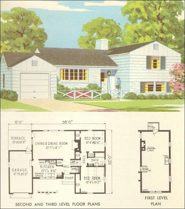 Modern House Portland Mid Century House Plans
