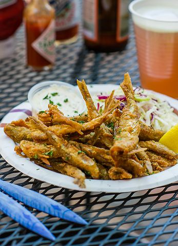 If you've ever experienced the sweet crunch of a fried smelt, salted and eaten whole, you'd know what all the fuss is