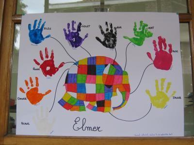 Elmer l'éléphant - Les activités d'une 2ème maternelle tout au...
