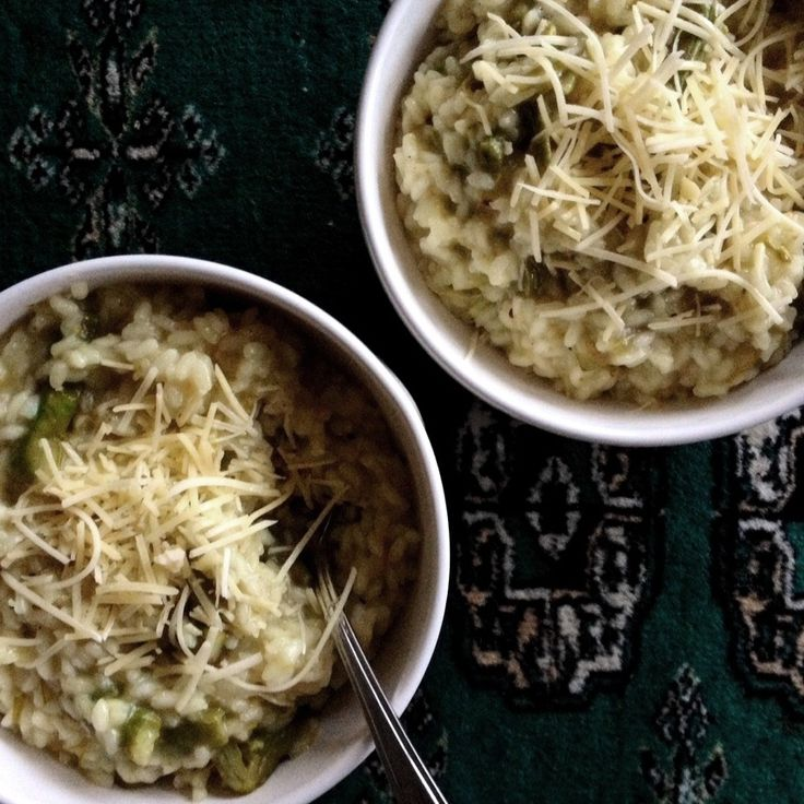 Asparagus risotto made with premium Carnaroli rice from Lombardia! http://www.italianharvest.com/product/risotto_with_asparagus/126
