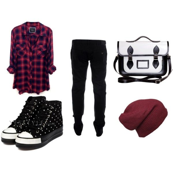 """School"" by anne-marie-nevelosova on Polyvore"