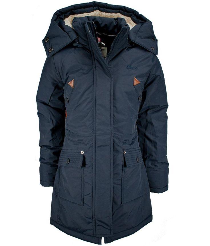 Cars Jeans Lange meisjes jas voor de winter