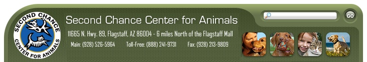 Second Chance Center For Animals - Full Service Adoption Facility Flagstaff, AZ USA :: Home