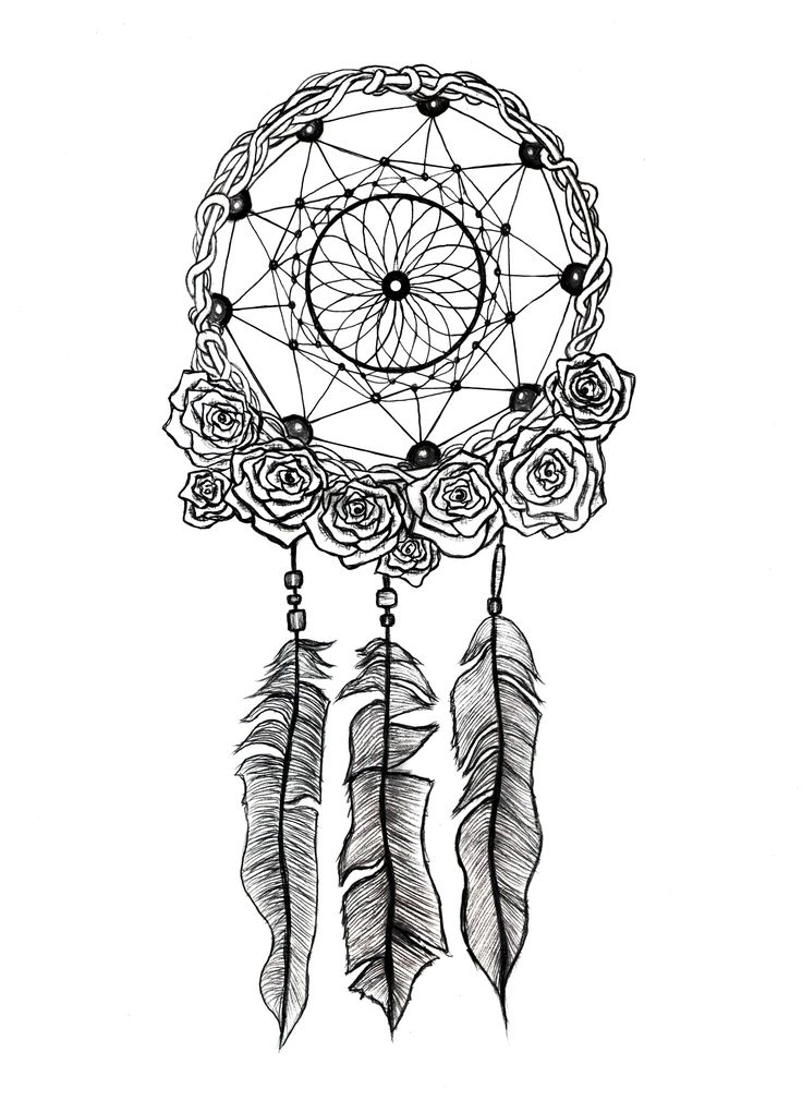 detailed dream catcher coloring pages - photo#9