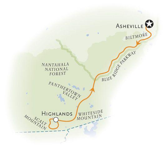 Blue Ridge Mountains walking tour