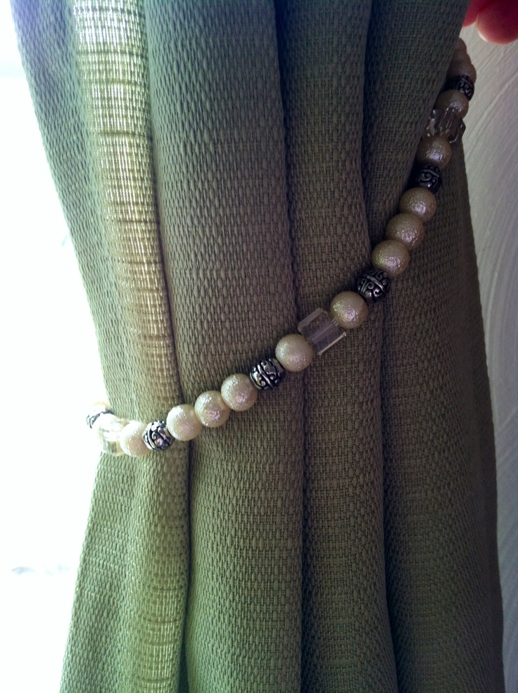 Long Curtain Tie Backs