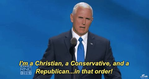 New party member! Tags: gop rnc republican national convention rnc 2016 conservative vice president mike pence
