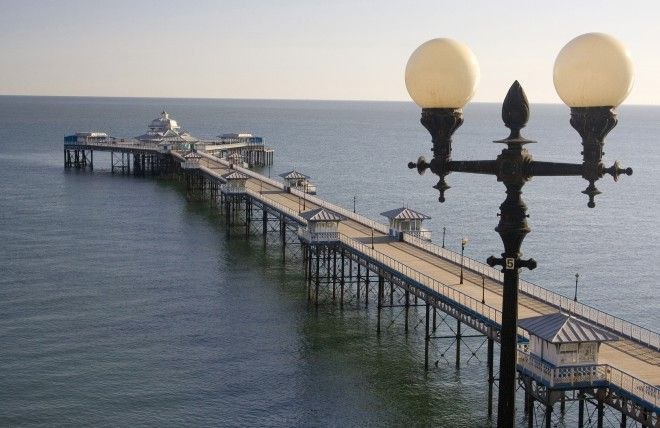 Llandudno pier, Wales. This year marks the 150th anniversary of the publication of Alice's Adventures in Wonderland by Lewis Carroll. That means Mad Hatters and Cheshire Cats will be everywhere from London to Manchester this spring.