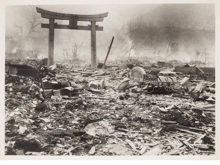essay atomic bomb 1945 The first atomic bomb, little boy, was dropped on japan on august 6, 1945.