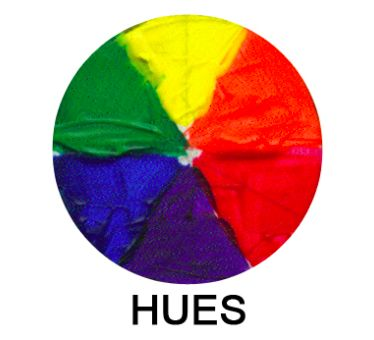 hues color wheel - on Craftsy