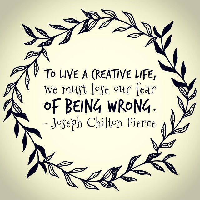 One of my favourite quotes, and the one I need to remember most often... #quotes #creativity #creativelife #inspiration #wisdom