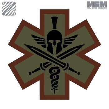 Tactical Asia - Philippines - Mil-Spec Monkey Tactical Medic Spartan Patch, P250.00 (https://www.tacticalasia.com/mil-spec-monkey-tactical-medic-spartan-patch/)