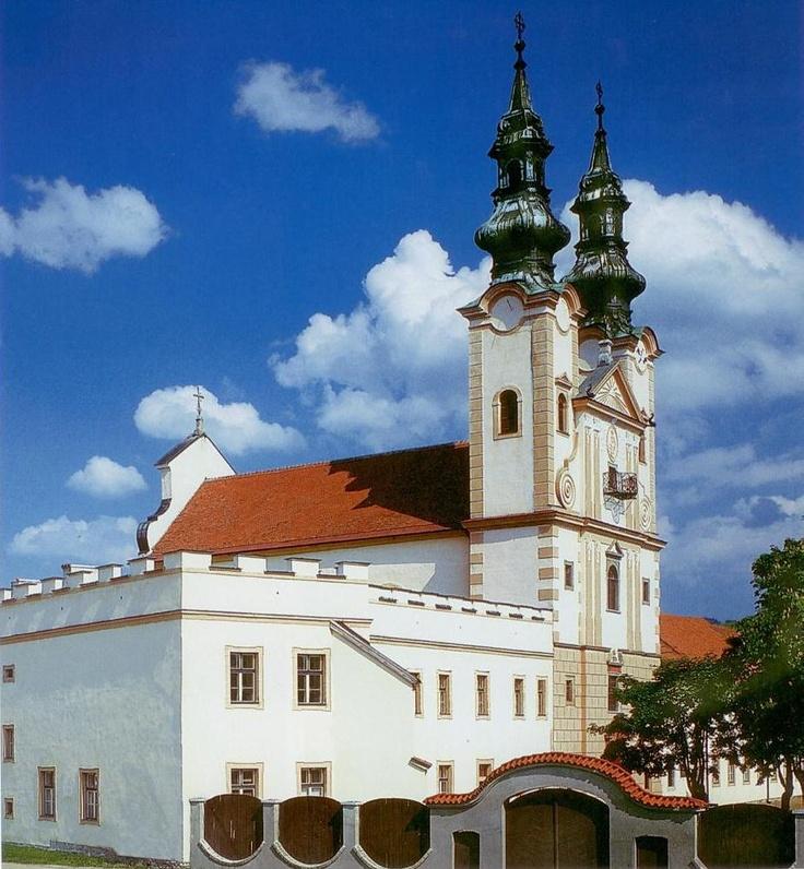 Slovakia, Podolínec - Piarist Church and Monastery