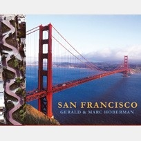"""Gerald and Marc have walked the streets and hills of San Francisco and taken to the air to seek out the awesome vistas of this urban kingdom. Their photographs reveal the heart of a city founded by Spaniards, put on the world map by a Gold Rush, shaken by a mighty earthquake, and then built anew from the ruins. Bound with the finest designer book cloth, """"San Francisco"""" is a luxury coffee table book in a league of it's own."""