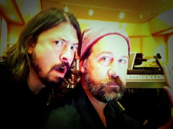 Grohl and Novoselic together again?