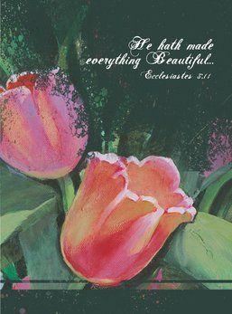 Floral Notecards featuring art by Joni Eareckson Tada.