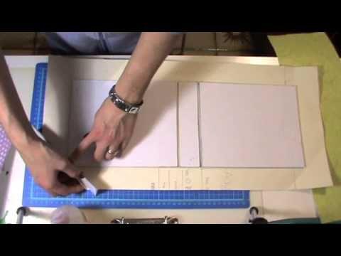 ▶ Tutorial Scrapbooking: Ricettario - Recipe Book - YouTube